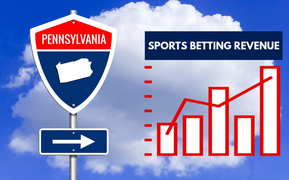 PA Sports Betting Revenue
